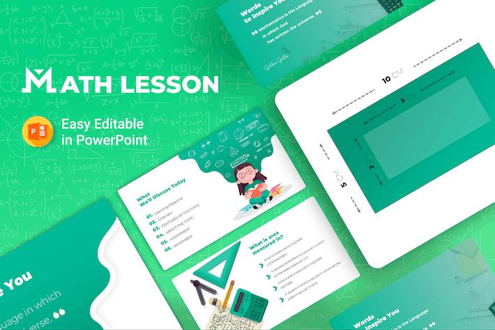 Thumbnail for Математический урок — Презентация математики
