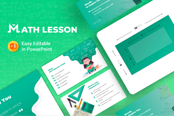 Thumbnail for Math Lesson – Mathematics Presentation