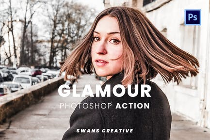 Glamour Photoshop Action
