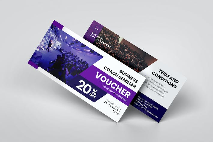 Thumbnail for Business Coaching Seminar AI and PSD Gift Voucher