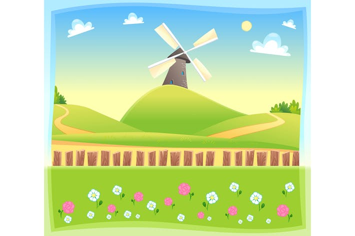 Thumbnail for Windmill Background