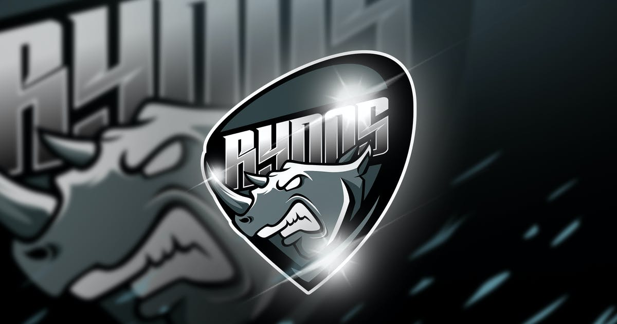 Download Rynos - Mascot & Esport Logo by aqrstudio