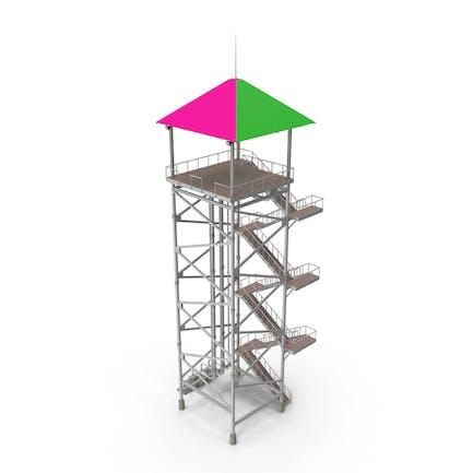 Waterslide Tower
