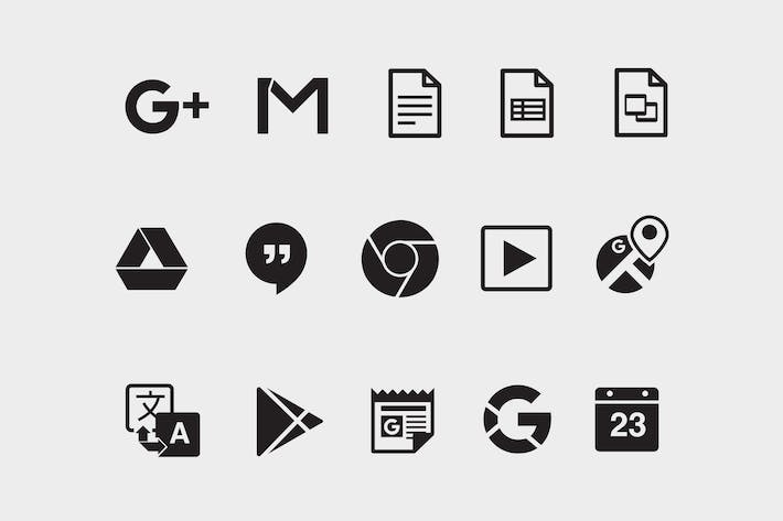 Cover Image For 15 Google Product Icons
