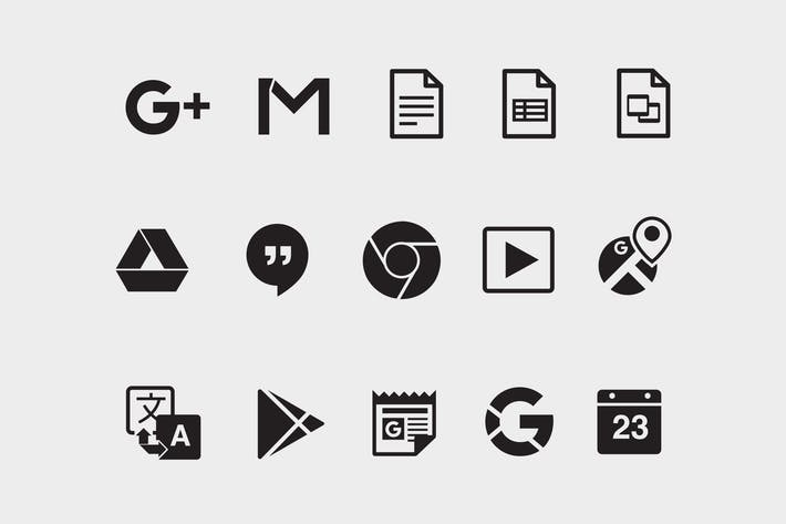 Thumbnail for 15 Google Product Icons
