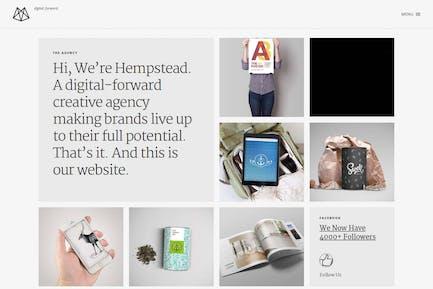 Hempstead – Responsive Drupal Portfolio Template