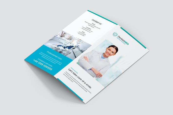 Cover Image For Brochure – Dentist Bi-Fold DL
