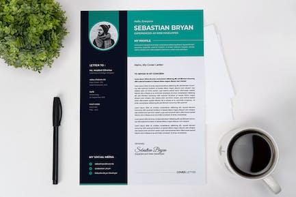 Web Developer CV Resume