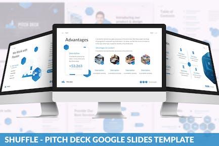 Shuffle - PitchDeck Google Slides Template