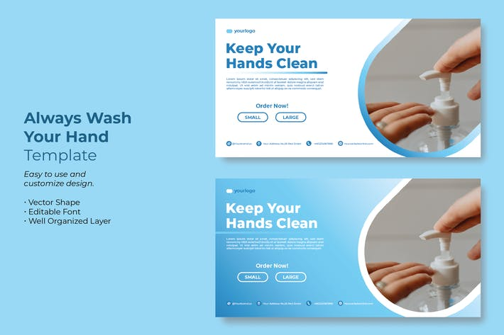 Keep Your Hand Clean 2 Campaign Template