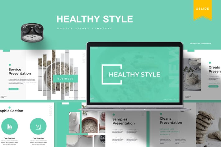 Healthy Style | Google Slides Template