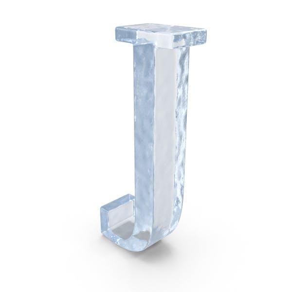 Ледяная заглавная буква J