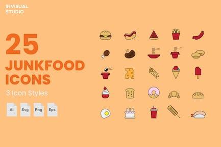 Junkfood - Icon Set
