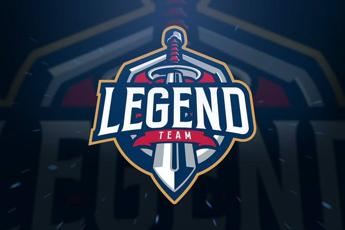 Thumbnail for Sword Legend sport and Esport Logo