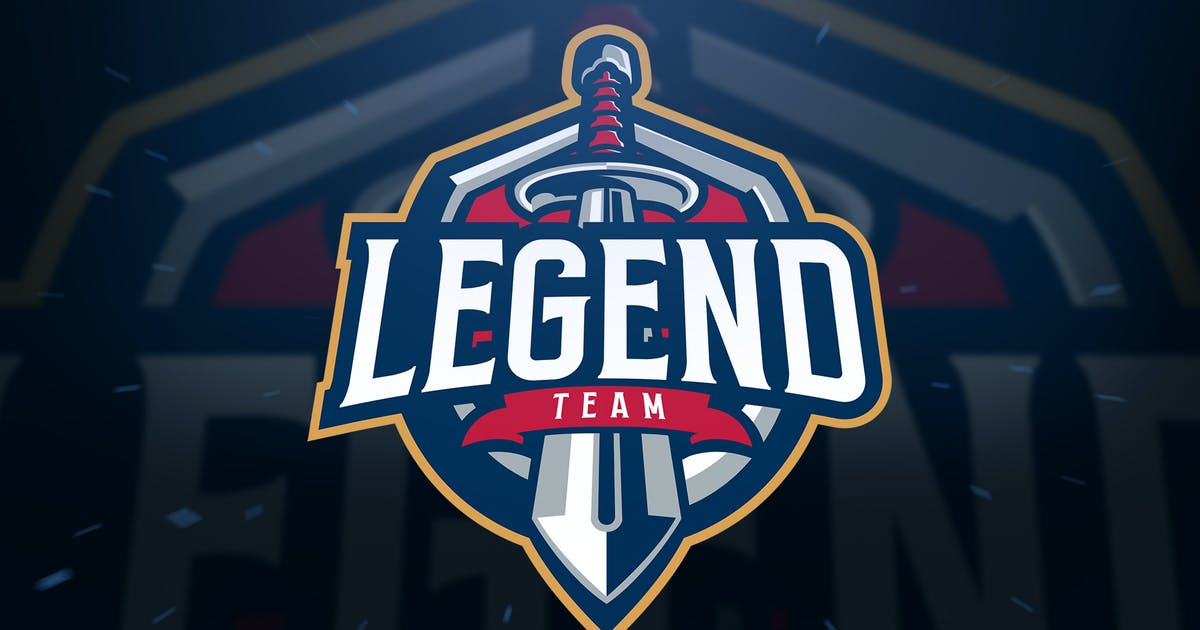 Download Sword Legend sport and Esport Logo by Blankids