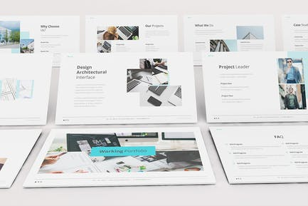 Branco Architecture Keynote Template