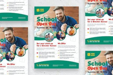 School Open Day - Poster