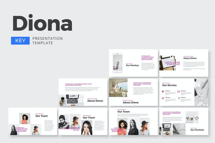 Thumbnail for Diona Business - Keynote