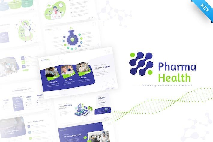Pharma Health Keynote Presentation Template