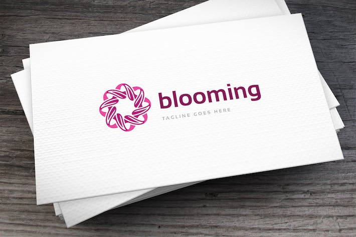 Thumbnail for Blooming Logo Template