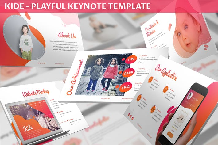 Cover Image For Kide - Playful Keynote Template