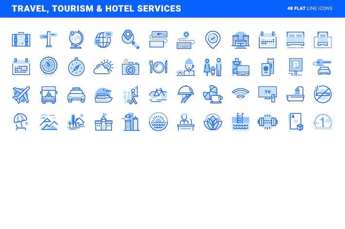 Services de voyage, tourisme et hôtellerie