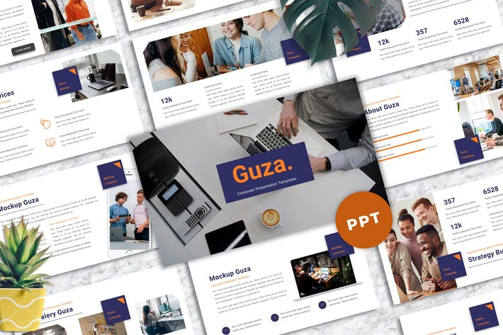 Guza - Corporate Powerpoint Templates