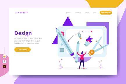 Дизайн - Целевая страница