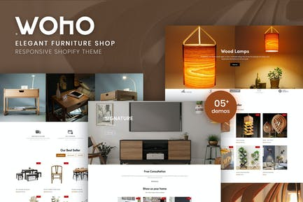 Woho   Elegant Furniture Shop For Shopify