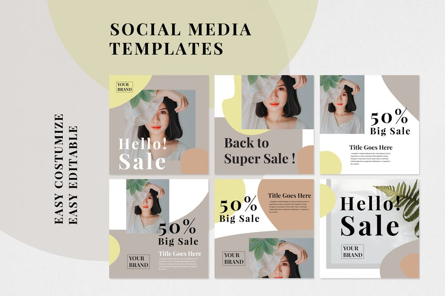 Social Media Kit Vol.01