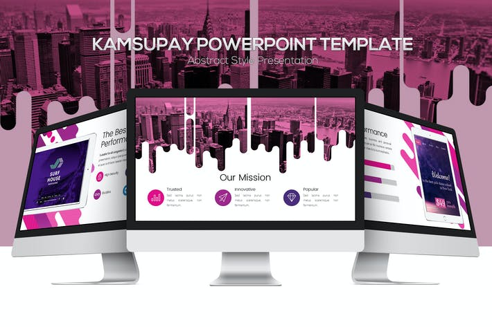 Thumbnail for Kamsupay Powerpoint Template
