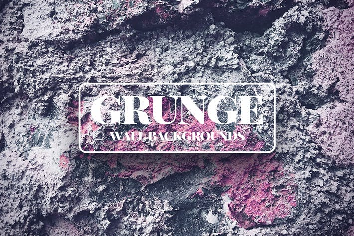Thumbnail for Grunge Wall Texture Backgrounds