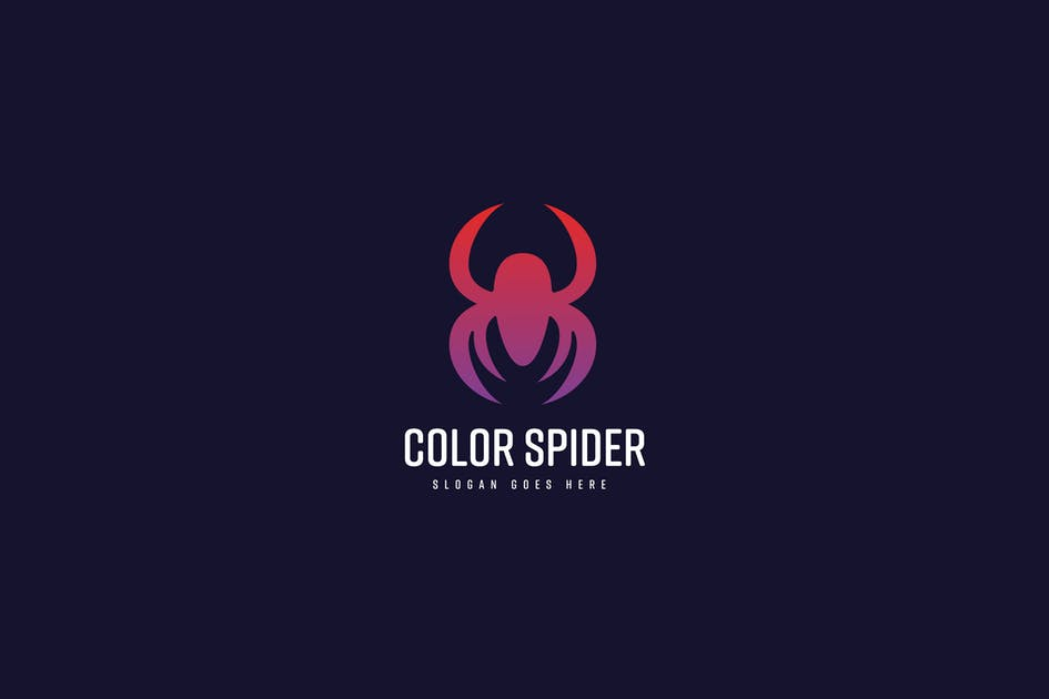 Download Color Spider Logo Template by Pixasquare