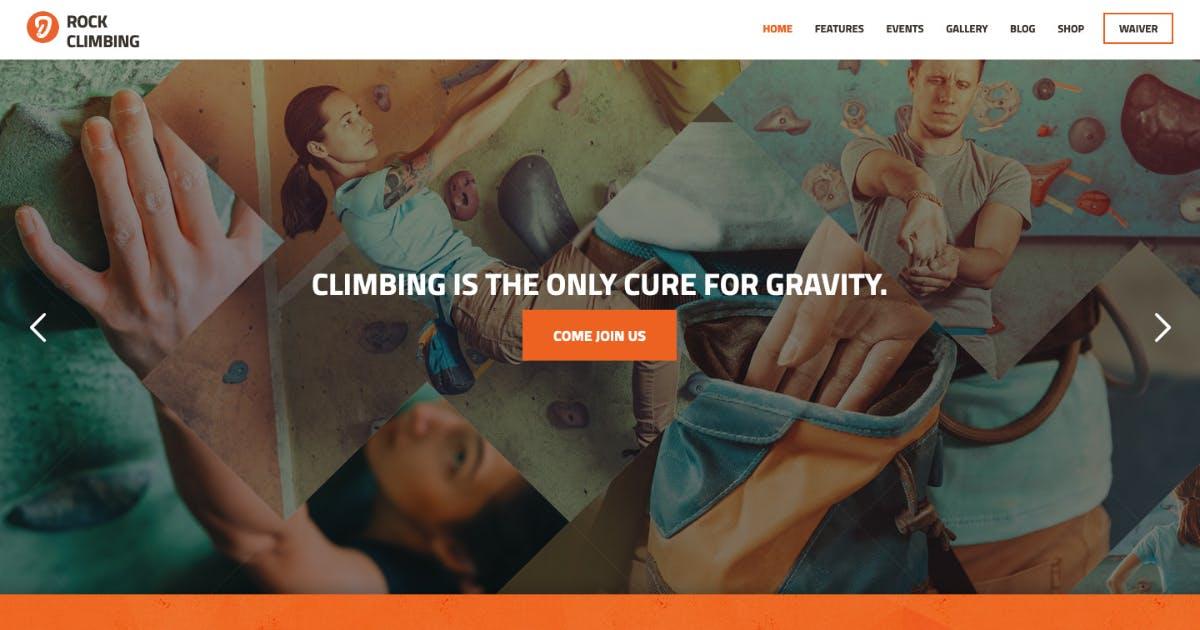 Download Rock & Wall Climbing / Sport Club WordPress Theme by AncoraThemes