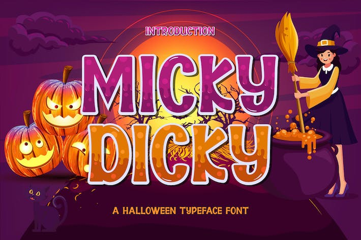 Thumbnail for Police d'affichage Micky Dicky