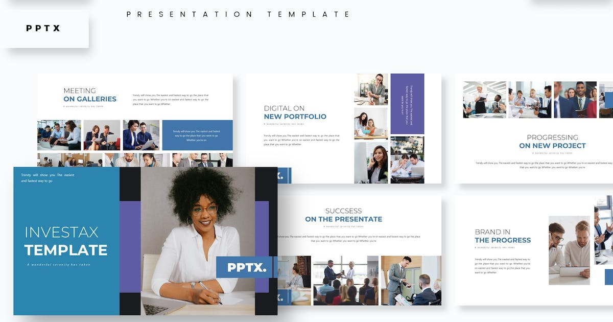 Download Investax - Presentation Template by aqrstudio