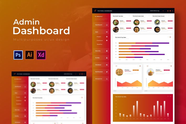 Thumbnail for Panel Dashboard | Admin Template