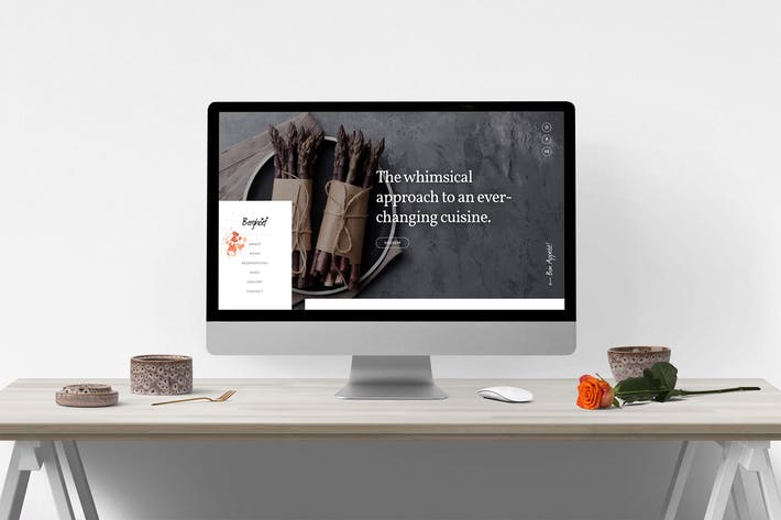 Berghoef – Contemporary HTML5 One-Page Restaurant