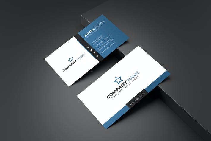 Thumbnail for Business Card Template V.2