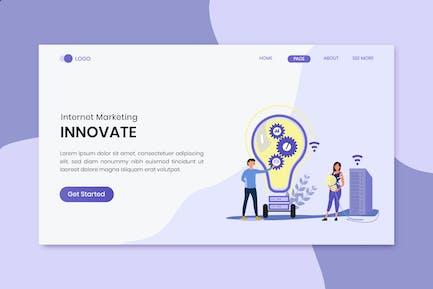 Innovate Marketing  Landing Page