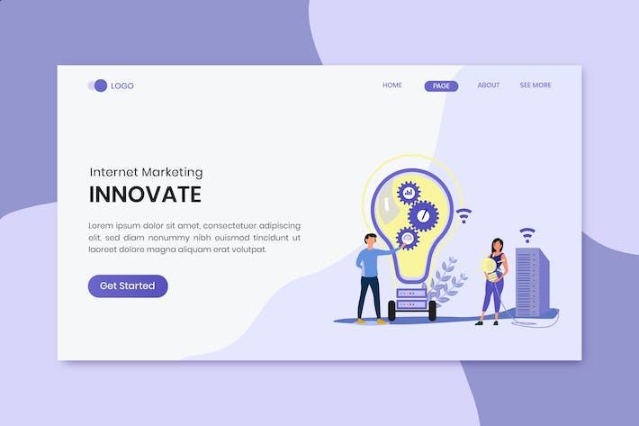 Thumbnail for Инновационные маркетинговые лендинг