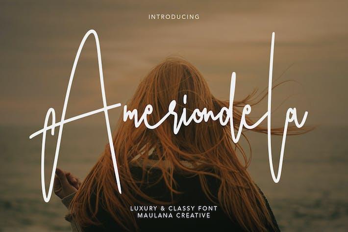 Ameriondela Luxury Classy Font