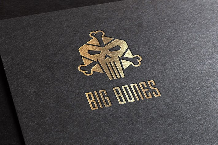 Thumbnail for Big Bones Logo Template