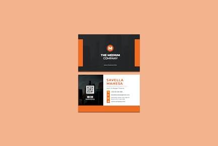 The Medium Business Card