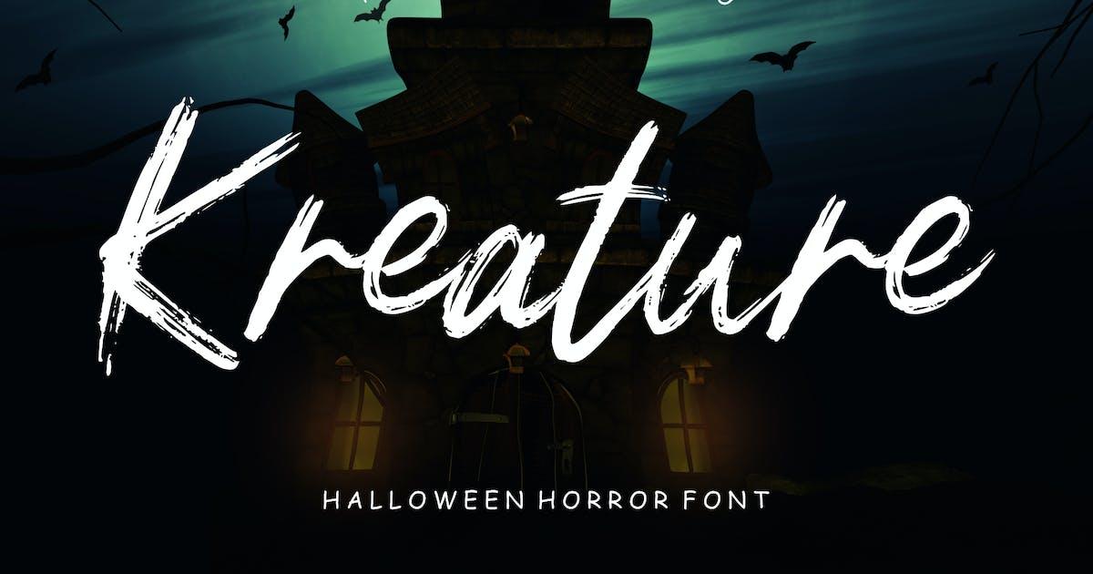 Download Kreature Halloween Horror by RahardiCreative