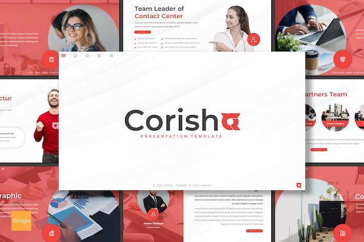 Thumbnail for Corisha - Business Google Slides Template