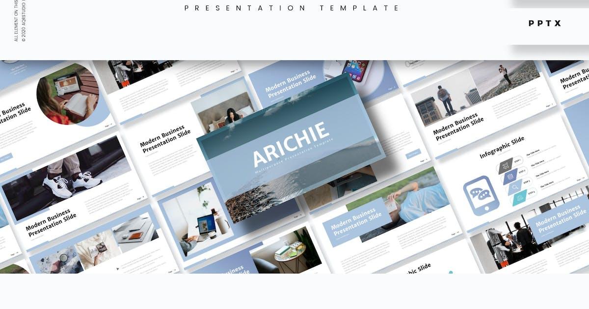 Download Arichie - Presentation Template by aqrstudio