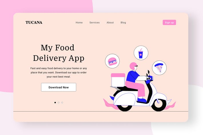 Thumbnail for Food delivery