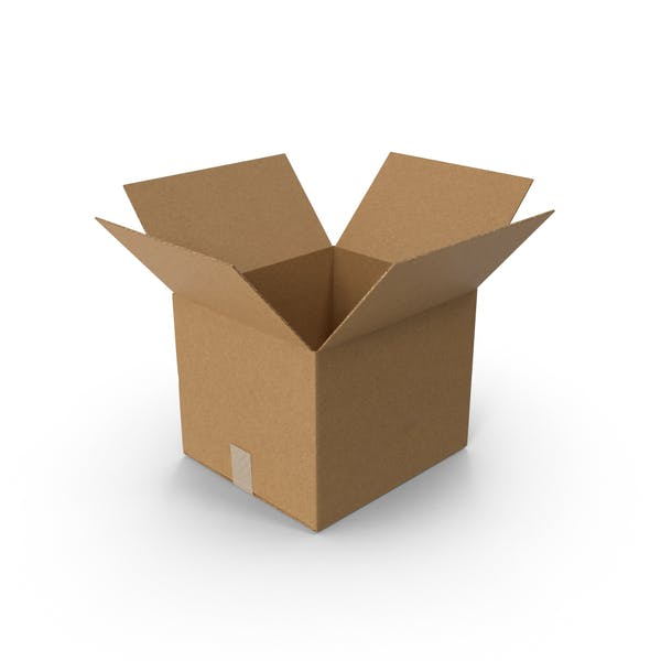 Cover Image for Open Cardboard Box