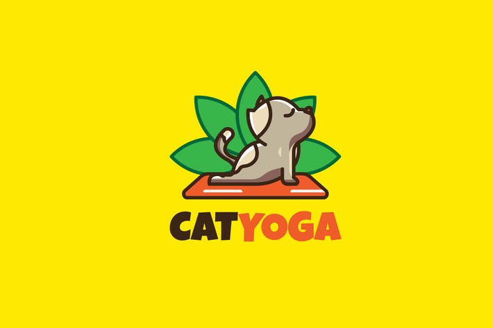 Cover Image For CAT YOGA - Mascot & Esport Logo